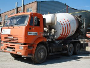 производство цементного раствора